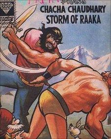 Chacha Chaudhary comic cover