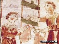 Medieval wine merchants