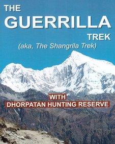 Cover of the Guerrilla Trek guide book