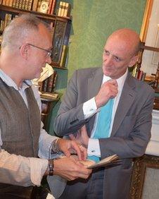 Glenn Mitchell and Peter Berthoud