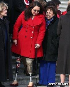 Tammy Duckworth on Capitol Hill (3 January 2013)