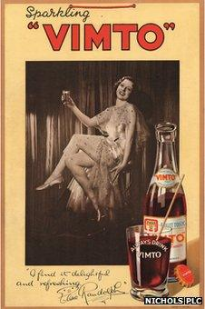 Vimto advert from 1930s