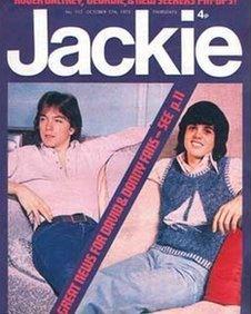 Roedd cylchgrawn Jackie yn boblogaidd iawn yn y '70au