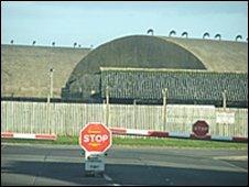 Air base shelters
