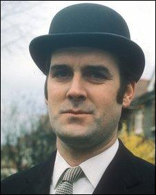 Comedian John Cleese as a City Gent