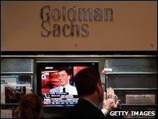 Goldman Sacks sign