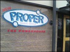Proper Music Group HQ in Beckenham