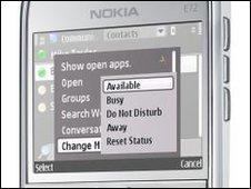 Microsoft Communicator Mobile software
