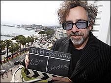 Tim Burton in Cannes