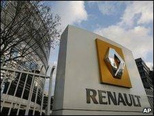 Renault headquarters outside Paris