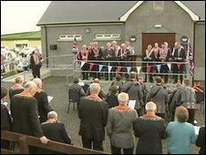 Lavin Orange Hall reopening