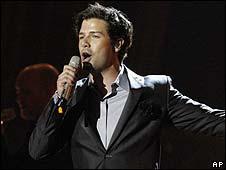 Didrik Solli-Tangen, Norway's entrant in Eurovision 2010