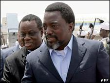 President Joseph Kabila. Photo: May 2010