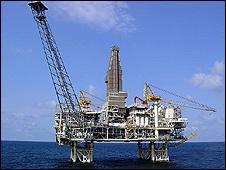 West Azeri oil platform in Caspian (pic: BP Caspian and partners)