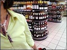 Supermarket alcohol