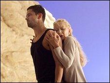 Dominic Cooper and Helen Mirren