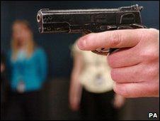 An imitation firearm