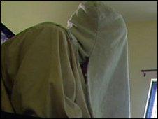 Captured militant in Punjab