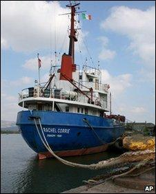 The MV Rachel Corrie (undated photo)