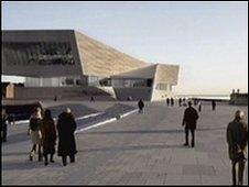 Artist's impression of the Museum of Liverpool