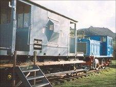 B.R standard 20 ton goods brake van (pic: John Willis)