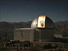 Trappist telescope at La Silla (Eso)