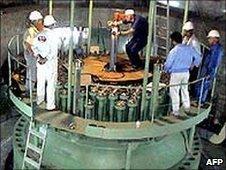 Bushehr nuclear reactor, file pic