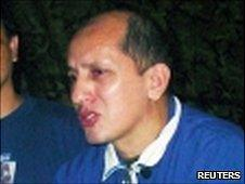 Gen Luis Mendieta in this file picture taken 26 July 2003