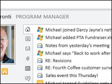 Screengrab from Office 2010, Microsoft