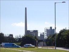 Lafarge Cement works, Westbury