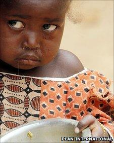 Child in Niger (Plan International)