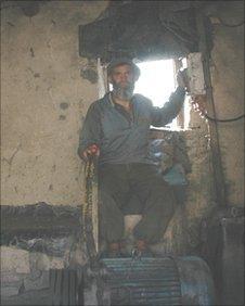 Miner at Pul-e Khumri
