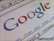 Google website - file
