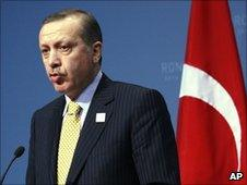 PM Recep Tayyip Erdogan at the G20 summit