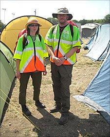 Medics Helen and John Ashworth