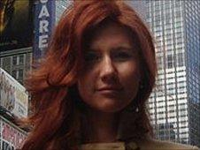 """Suspect """"Anna Chapman"""" in photo from Russian social networking website """"Odnoklassniki"""", or Classmates - undated photo"""