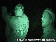 Still from the Oscar-winning film, The Cove
