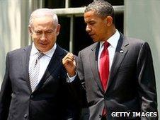 Benjamin Netanyahu (left) and Barack Obama
