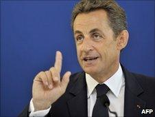 Nicolas Sarkozy (6 July 2010)