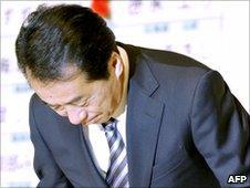 Japanese PM Naoto Kan