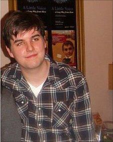 David Cashin, university applicant