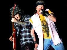 DJ Ashba and Axl Rose from Guns N' Roses