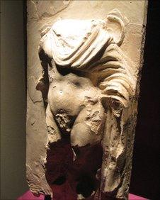 Decapitated statue