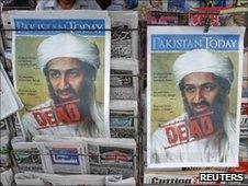 Osama Bin Laden's death made headlines around the world