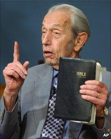 File photo of Harold Camping
