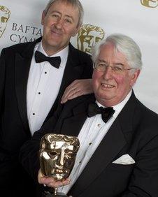 Gareth Gwenlan with Nicholas Lyndhurst