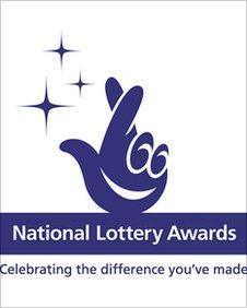 National Lottery Award logo