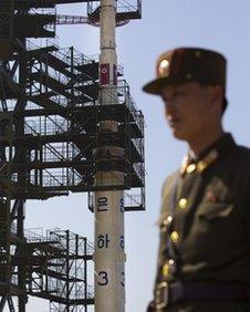 North Korea missile launch pad