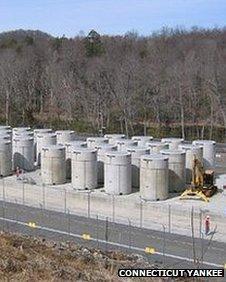 Spent fuel storage, Connecticut Yankee