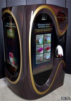 iSample vending machine